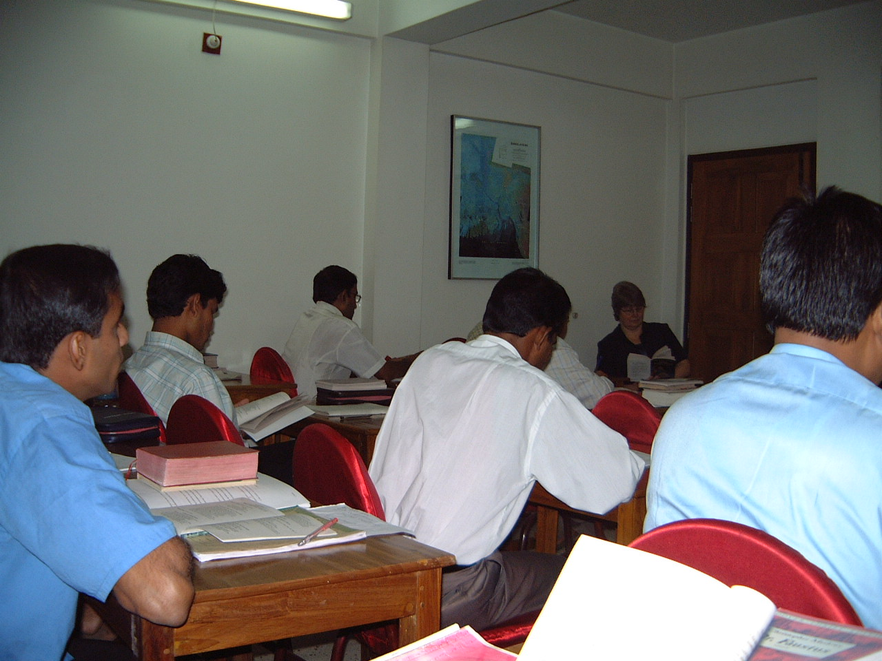 March 2004 Bible college session